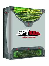 Spy Kids: Complete Collection - 4-Films [DVD Box Set, Region 1, 4-Disc] NEW