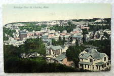 1908 Postcard Birdseye View Of St Charles Minnesota Mn #Q99