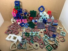 Lot of Over 120 Handmade Christmas Holiday Ornaments - Free Shipping