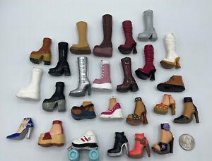 Barbie DOLL MY SCENE SINGLE SHOES LOT SINGLE SHOE Sneakers Boots Heels 3 BRATZ