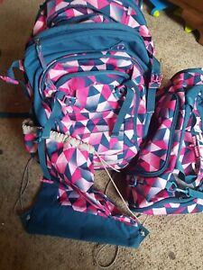 Satch Schulrucksack Schulranzen 3tlg pink Crush xxl
