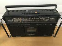 GRUNDIG RR 640 Professional Boombox Radio Cassette Recorder DEFECT, BROKEN, DOA