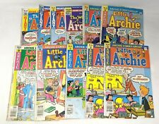 VTG Lot of 11 Little Archie & World of Archie Comics Group Books Series 1970-80s