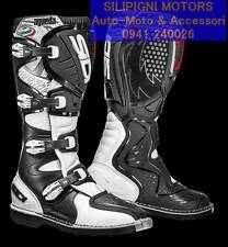 Sidi Stivali Motocross AGUEDA Bianco Nero 43