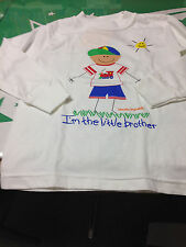 Little Brother Long Sleeve T-Shirt  Size Small