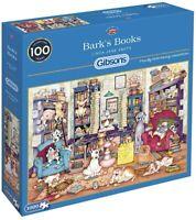 Gibsons Bark's Books 1000 Piece Jigsaw Puzzle