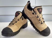 Nike Women's Size 8.5 ACG Suede Hiking Trail 1999 Vintage Shoes Tan 990406 EUC