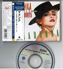 """MADONNA La Isla Bonita Super Mix JAPAN 5"""" CD Collectors Series #9 WPCR-1504 OBI"""