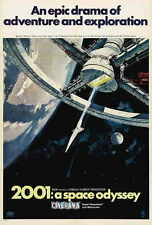 2001: A SPACE ODYSSEY Movie POSTER I 27x40 Keir Dullea Gary Lockwood