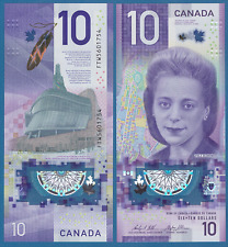 CANADA 10 Dollars P New 2018 BC-77a UNC Polymer Viola Desmond
