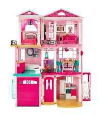 2015 Barbie Dreamhouse Smart House Pink 3 Floors Garage Interactive Dream House