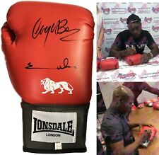 More details for chris eubank & nigel benn dual signed lonsdale boxing glove see proof & coa