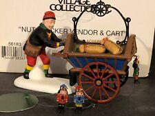 """(1) Department 56 Heritage Vilage #56183 """"Nutcracker Vendor/Cart"""""""