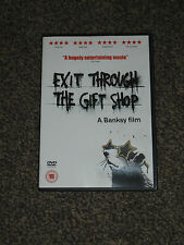 EXIT THROUGH THE GIFT SHOP : A BANKSY FILM DVD - IN VGC (FREE UK P&P)