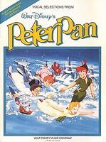 Peter Pan Sheet Music Piano Vocal Guitar Songbook NEW 000360819
