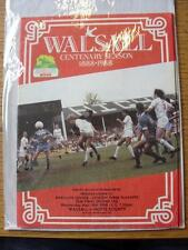 18/05/1988 Play-Off Semi-Final Division 3: Walsall v Notts County   (Item has no