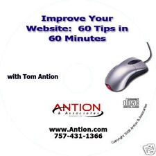 Improve Your Website: 60 Tips In 60 Minutes