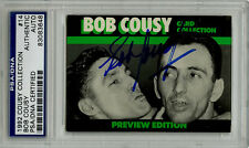 Bob Cousy SIGNED Cousy Collection Card Boston Celtics PSA/DNA AUTOGRAPHED