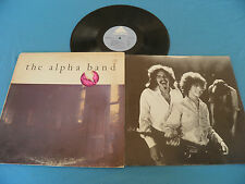 The Alpha Band - T-Bone Burnett - RARE Original 1976 LP + Inner LISTEN