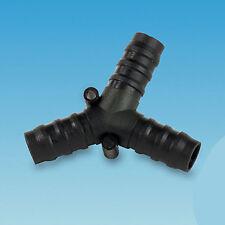 12mm Y piece 2 way connector divider for water hose motorhome caravan camper