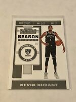 2019-20 Panini Contenders Basketball #57 - Kevin Durant - New Jersey Nets