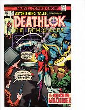 Astonishing Tales-Deathlok #33 (Jan 1976), Marvel, Fine/Very Fine