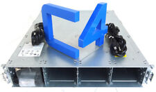 HP AP838A STORAGEWORKS G3 P2000 CHASSIS W/ 2X PSU, RAILS, BEZELS - AP838B