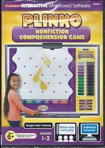 Plinko Nonfiction Comprehension Game Grades 1-2 Interactive Whiteboard Software
