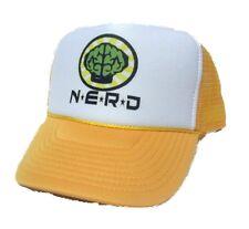 NEW NERD NEPTUNES TRUCKER HAT CAP yellow