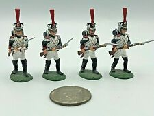 (4) Pc Frontline Figures FF 2000 Metal Lead 54mm Napoleonic Toy Soldiers EXCEL