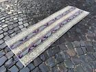 Patchwork rug, Handmade wool rug, Runner rug, Turkish rug | 2,0 x 6,0 ft