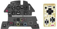 MESSERSCHMITT Bf-109 E COLORED, PE, 3D INSTRUMENT PANEL TO AIRFIX #2408 YAHU