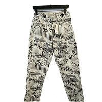 Women's Asos Design Ritson Rigid Mom Jeans - Size W28 L32 - Comic Print NWT