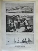 Scott Expedition Shackelton Scott Wilson Polar Exploration 1903 old print