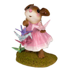 Wee Forest Folk M-321bP A WISH FOR HAPPINESS