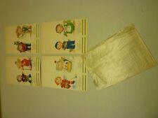 1930's Lot of 8 Original Campbell Soup Kids Talley Bridge Cards