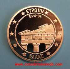 1994   25 ECU - GRECIA  - PARTHENON  - SILVER -  EUROPA - PROOF