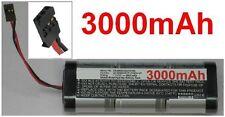 Batterie 7.2V 3000mAh type SC3000/D37/FUTABA-3P Pour Generic RC Racing Car