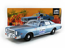 GREENLIGHT COLLECTIBLES - 1/18 - PLYMOUTH FURY DETROIT POLICE - BEVERLY HILLS CO