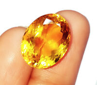 Loose Gemstone 7 to 12 cts 100% Natural Citrine Oval Shapes Certified Gem