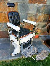 Alte antik Friseurstuhl Triumph Barber Chair Spanien 1910 RESTORED TOP CONDITION