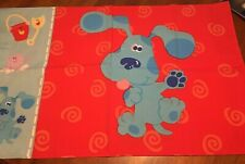 Blues Clues STANDARD PILLOWCASE Red ~ See condition description