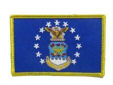 U.S. Military Usaf Air Force Emblem Flag Iron On Patch