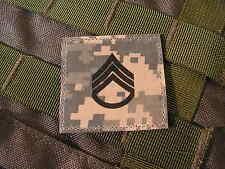 Galon US - STAFF SERGEANT - grade scratch ACU DIGITAL rank insignia SNAKE PATCH