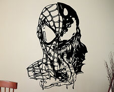Venom Spiderman Wall Decal Vinyl Sticker Superhero Art Kids Boys Room Decor 3vzz