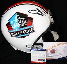 Emmitt Smith signed Hall of Fame Riddell Helmet, Dallas Cowboys, Gators, PSA/DNA