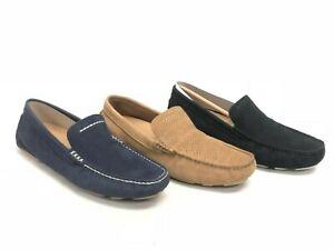 UGG Australia Men's Henrick Stripe Perf Loafers Slip On Leather Shoes 1014642