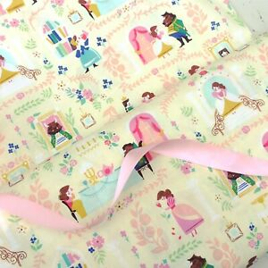 Riley Blake Belle Beauty And The Beast material 100% cotton fabric HALF METRE