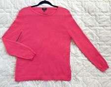Talbots 100% cashmere pink sweater size Mp