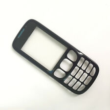 New Front Lcd Screen A Cover Housing Glass Lens Replacement For Nokia 6303 Black